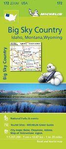 Foto Cover di Big sky country. Idaho, Montana, Wyoming 1:1.267.200, Libro di  edito da Michelin Italiana
