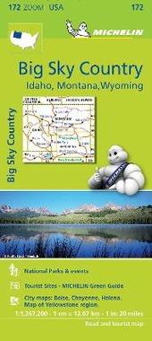 Big sky country. Idaho, Montana, Wyoming 1:1.267.200
