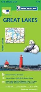 Libro Great lakes 1:1.267.200