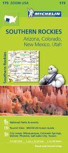 Foto Cover di Southern Rockies. Arizona, Colorado, New Mexico, Utah 1:1.267.200, Libro di  edito da Michelin Italiana