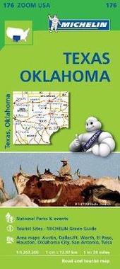 Texas-Oklahoma 1:1.267.200. Ediz. inglese