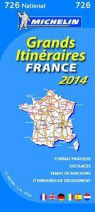 Libro France. Grands itinéraires 1:1.000.000