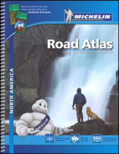 North America. Road atlas - copertina