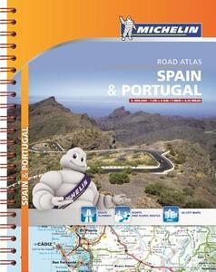 Spain & Portugal. Road atlas 1:400.000