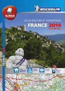 France. Atlas routier et touristique 2014 1:200.000 - copertina