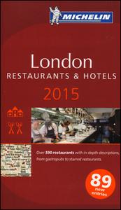 Libro London 2015. La guida rossa. Con cartina