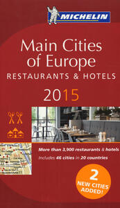 Main cities of Europe 2015. Restaurants & hotels