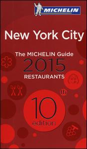 Libro New York City 2015. La guida rossa. Ediz. inglese