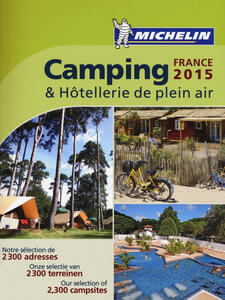 Camping & hôtellerie de plein air. France 2015 - copertina