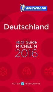 Foto Cover di Deutschland 2016. La guida rossa, Libro di  edito da Michelin Italiana