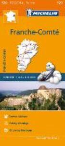 Libro Franche-Comté 1:200.000