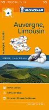 Auvergne, Limousin 1:200.000