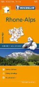 Rhône, Alpes-Rhone, Alps 1:200.000