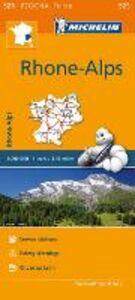 Libro Rhône, Alpes-Rhone, Alps 1:200.000