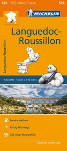 Libro Languedoc-Roussillon 1:200.000