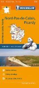 Libro Nord, Pas-de-Calais, Picardy-Nord, Pas-de-Calais, Picardie 1:200.000