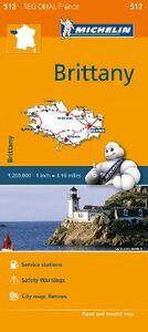 Foto Cover di Bretagne-Brittany 1:200.000, Libro di  edito da Michelin Italiana