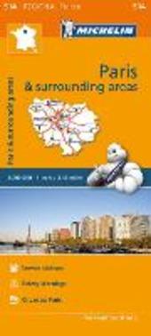Paris & surrounding areas-Île-de-France & surrounding areas 1:200.000