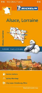 Libro Alsace, Lorraine 1:200.000