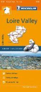 Libro Loire Valley-Pays de la Loire 1:200.000