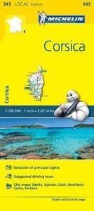 Foto Cover di Corsica 1:250.000, Libro di  edito da Michelin Italiana