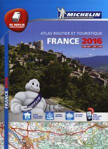 Libro France. Atlas routier et touristique 2015 1:200.000