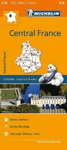 Centre-Central France 1:200.000 - copertina