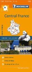 Foto Cover di Centre-Central France 1:200.000, Libro di  edito da Michelin Italiana