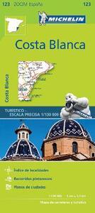 Costa Blanca 1:130.000. Ediz. multilingue - copertina