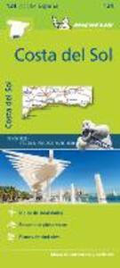 Costa del Sol 1:200.000. Ediz. multilingue - copertina