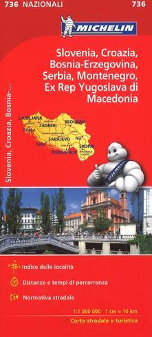 Capturtokyoedition.it Slovenia Croazia Bosnia 1:1.000.000 Image