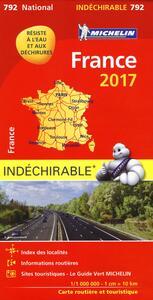 France 2017 1:1.000.000 - copertina