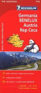 Germania, Benelux, Austria, Repubblica Ceca 1:1.000.000 - copertina
