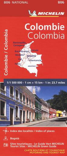 Associazionelabirinto.it Colombie-Colombia 1:1.500.000 Image