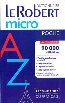 Promoartpalermo.it Le petit Robert micro poche Image