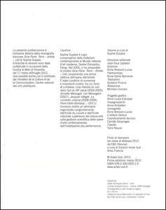 Gina Pane (1939-1990). Catalogo della mostra (Rovereto, 17 marzo-8 luglio 2012) - Sophie Duplaix - 3