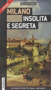 Milano insolita e segreta - Massimo Polidoro - copertina