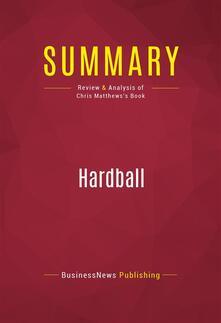 Summary: Hardball