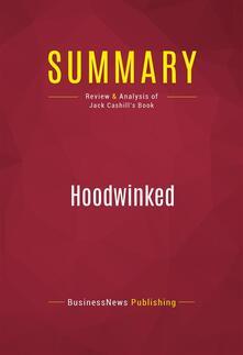Summary: Hoodwinked