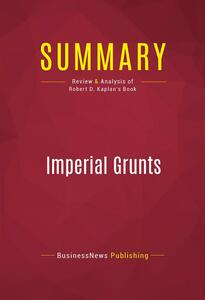 Summary: Imperial Grunts