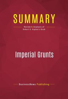 Summary: Imperial Grunts