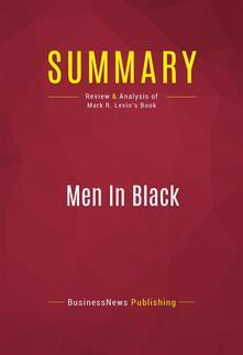 Summary: Men In Black