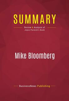 Summary: Mike Bloomberg
