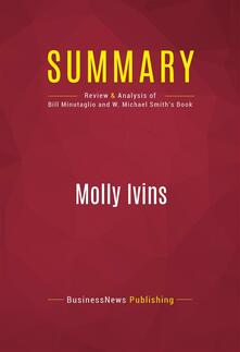 Summary: Molly Ivins