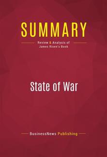 Summary: State of War