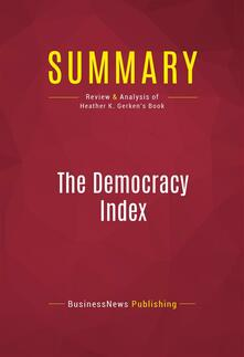 Summary: The Democracy Index