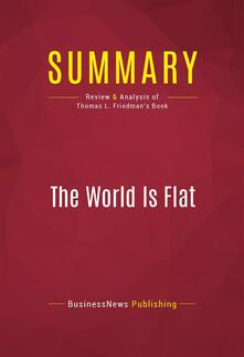 Summary: The World Is Flat