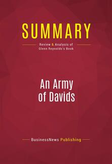 Summary: An Army of Davids