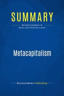 Summary: Metacapitalism