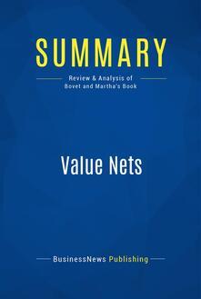 Summary: Value Nets